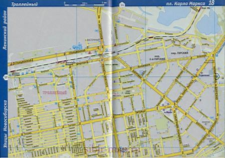 Карта Кировского района города