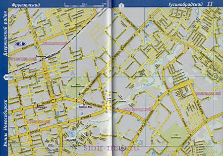 Карта Октябрьского района г.Новосибирска: http://sibir-map.ru/1335088.html