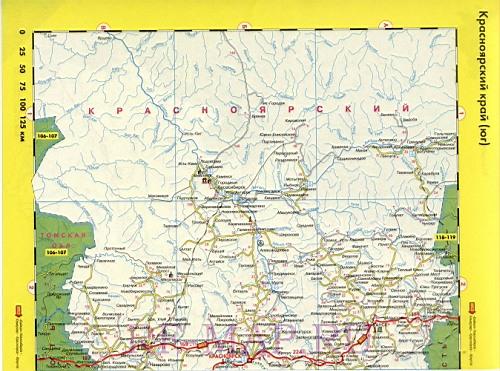 подробная карта красноярского края скачать бесплатно - фото 10