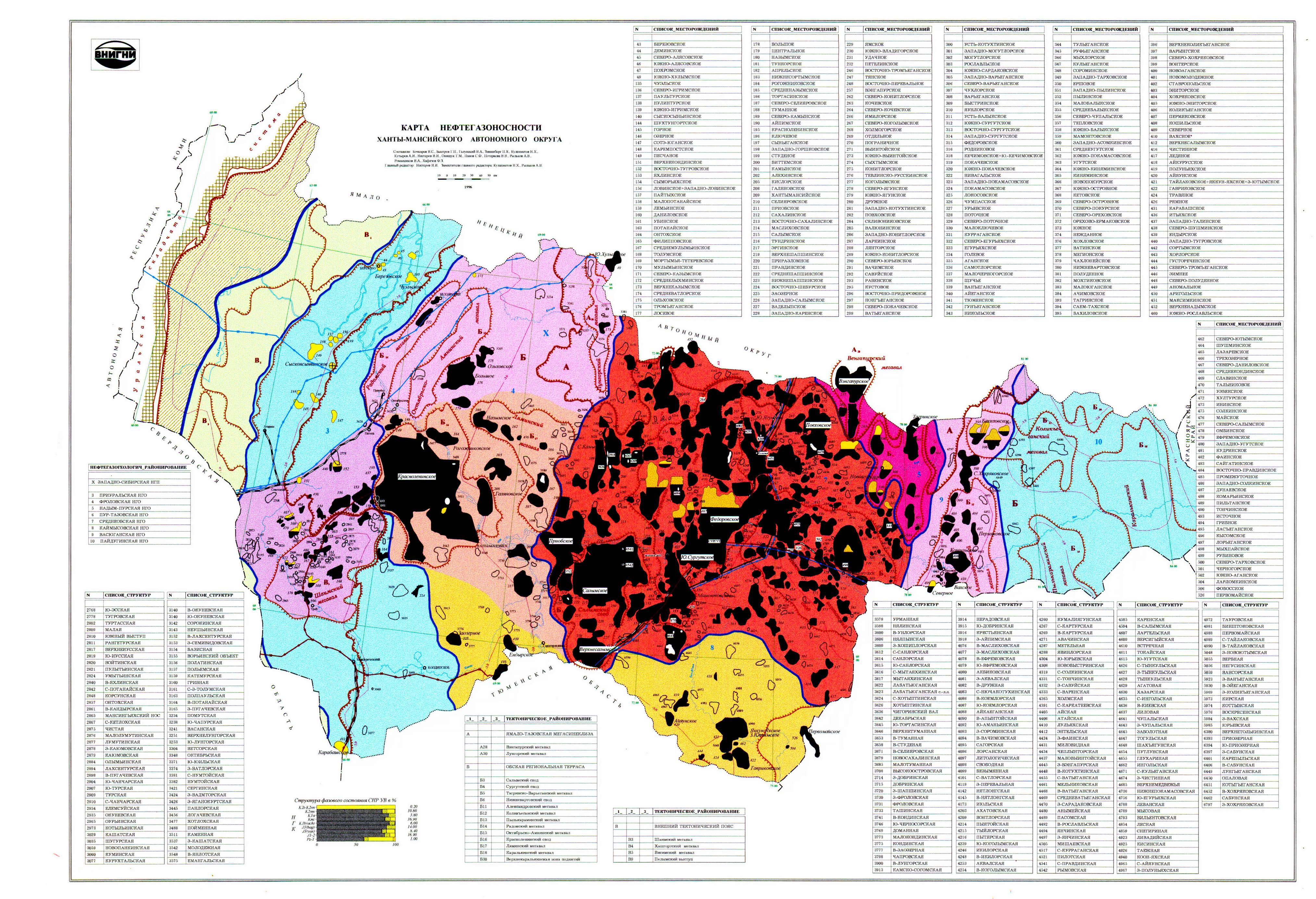 Карта геологических районов ХМАО. Карта нефтегазоности ...: http://sibir-map.ru/map940292_0_0.htm